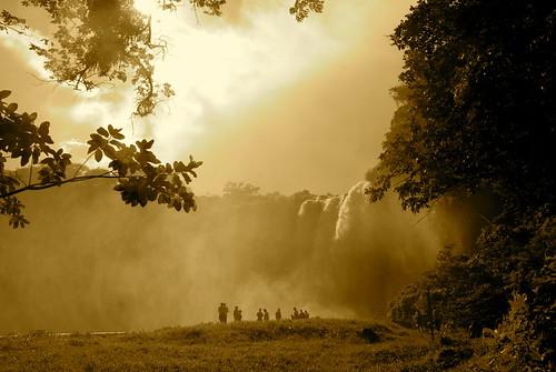 méxico mexico waterfall veracruz 2009 cascada saltodeeyipantla 123bw