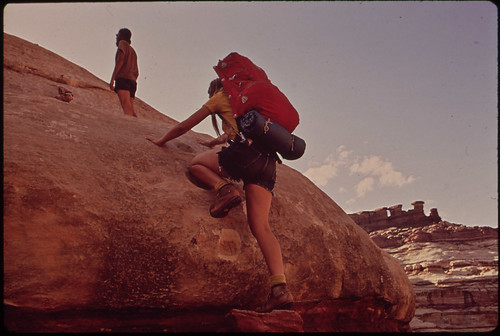 Backpacking in the Maze, a Wild and Rugged Region in the Heart of the Canyonlands, 05/1972
