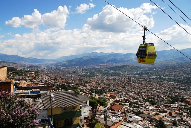 Metro Cable y Medellín