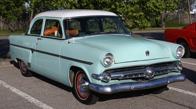 1954 ford customline 2 door flickr photo sharing