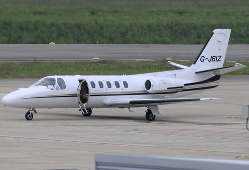 Z) 247 Jet Citation II G-JBIZ GRO 07/05/2011