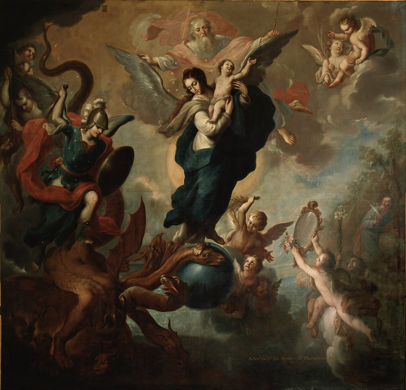 Miguel Cabrera - The Virgin of the Apocalypse (c.1760)