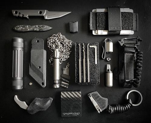 Covert Operator Travel EDC + SERE Gear Kit