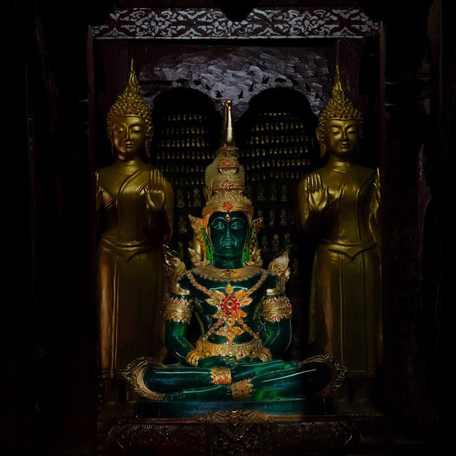 The Sacred Emerald Buddha