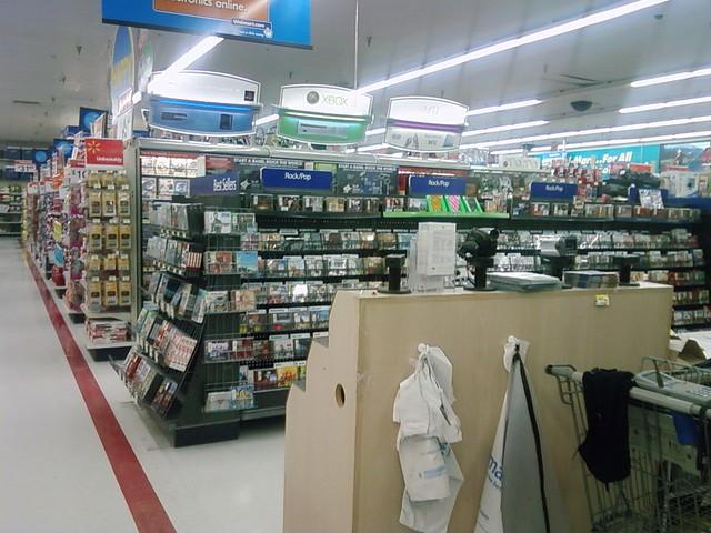 Walmart Electronics Department