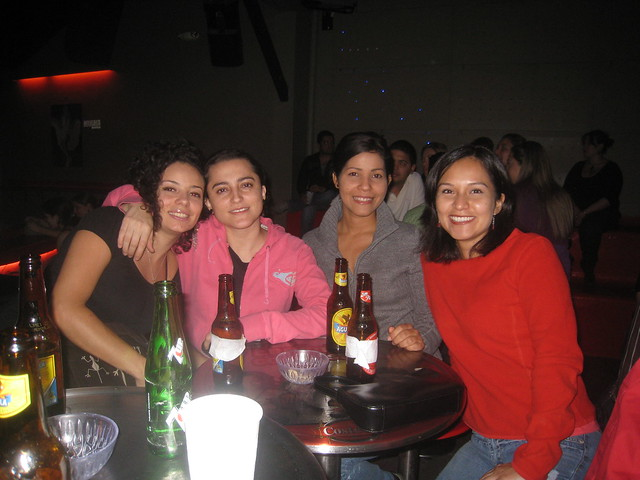 From left - Natalia, Diana, Jesusa, and Diana