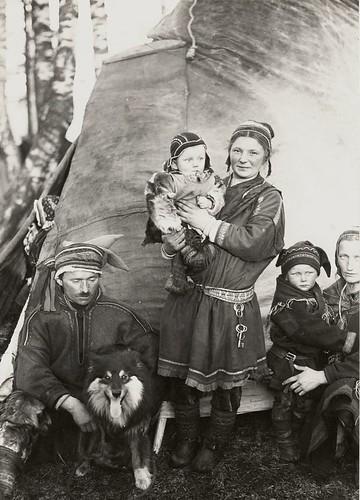 Nomad Sami Finland 1920s