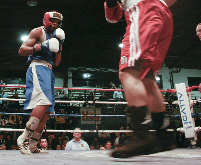 golden gloves amateur boxing tournament