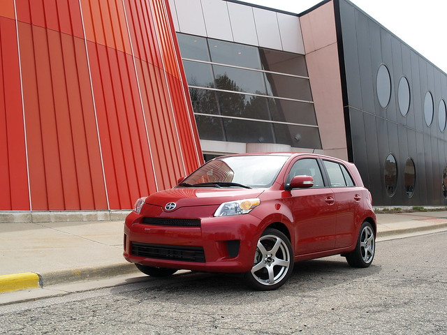 Red 2009 Scion xD