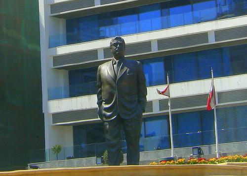 Rafiq Hariri memorial site