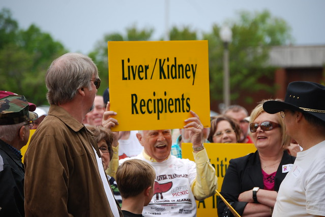 liver and kidney recipients