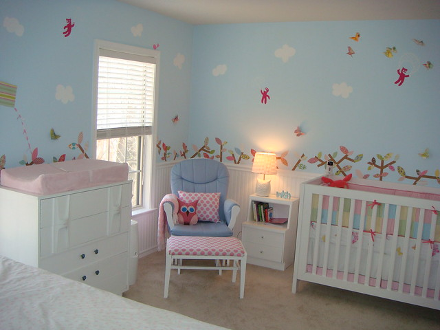 View of Nursery from the living room