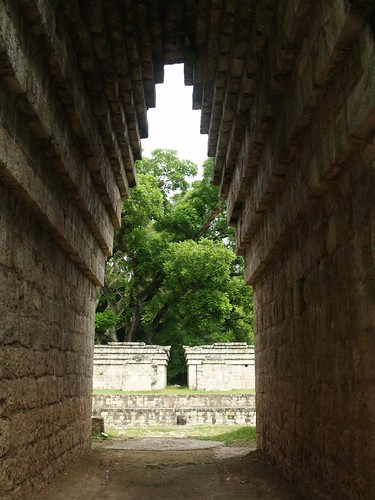 Adalberto.H.Vega's photo of an arch and ball court at Copán.