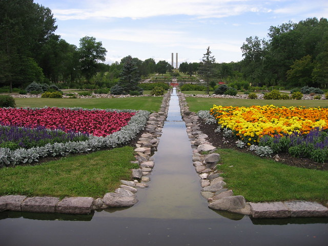 Formal Garden, International Peace Garden