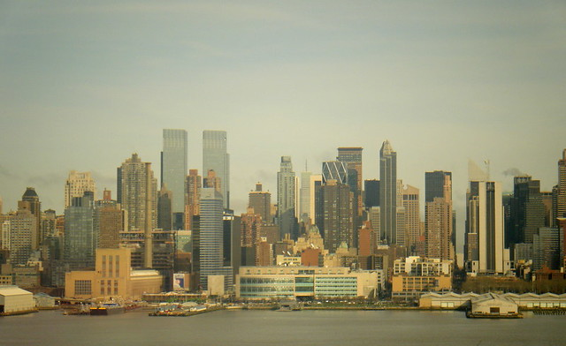 New York skyline from Weehawken