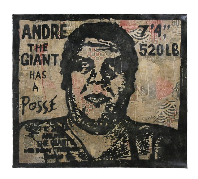 Shepard Fairey - Andre the Giant | Flickr - Photo Sharing!
