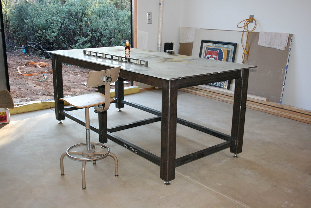 New welding table ofn forums - Plan fabrication table ...