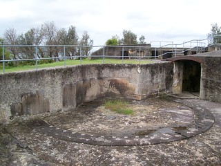 10 inch RML Gun Pit, Middle Head