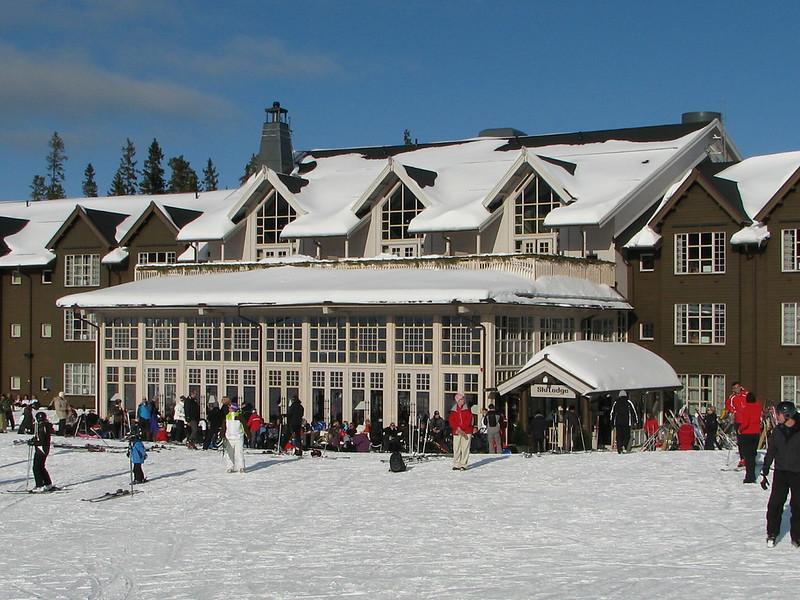 lindvallen ski lodge