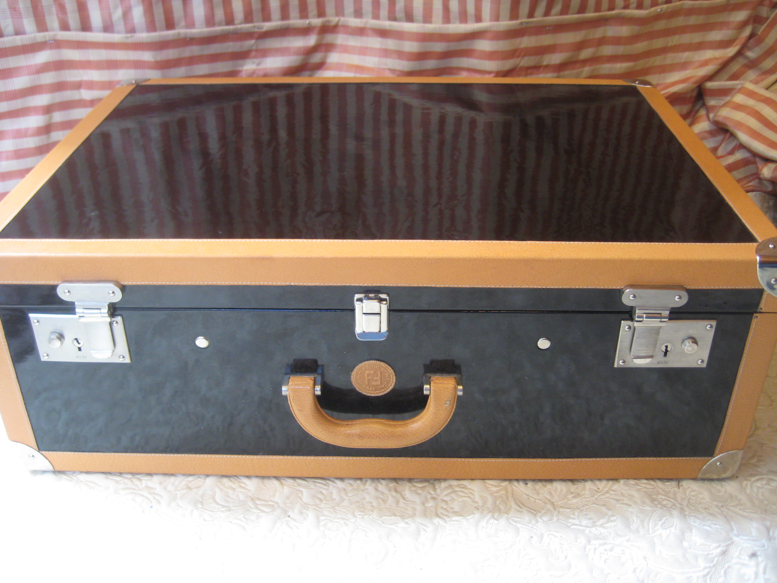 Faux fendi suitcase flickr photo sharing for Housing works thrift shop auctions