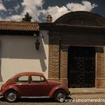 Classic Bug on Antigua Street - Guatemala
