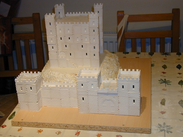 how to build a model 1600 castle