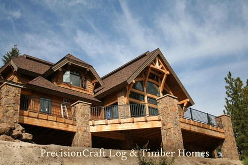 Timber Frame Home Exterior Flickr Photo Sharing