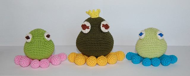 The Frog Prince Crochet Kit and Pattern in Cygnet Yarn (CY1228 ... | 258x640