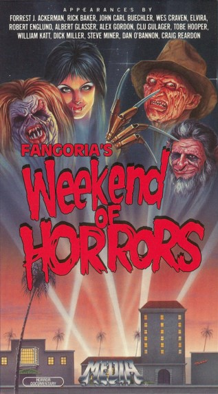 Weekend of Horrors VHS
