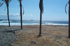 Foto playa y barco