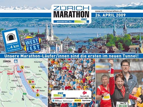 Im Vorfeld des Zürich Marathon 09