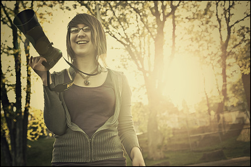 camera sunset smile sarah nikon d200 nikkor 1755mm