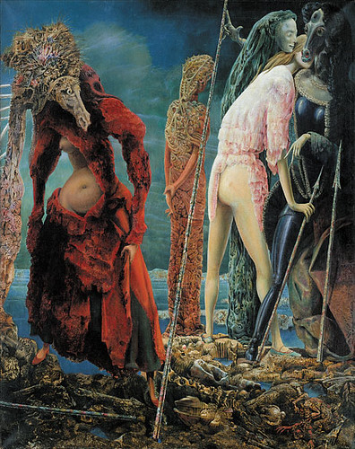 The Antipope by Max Ernst-1941/42