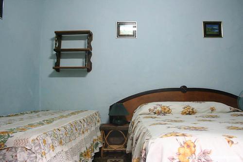 Quarto da casa particular em Santiago de Cuba
