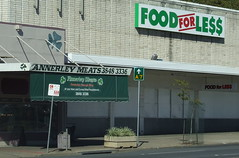 Annerley Meats and Food for Less Supermarket, Ipswich Rd, Annerley Junction, Brisbane, Queensland, Australia 090617
