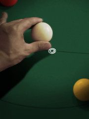 cue stick(0.0), indoor games and sports(1.0), yellow(1.0), sports(1.0), recreation(1.0), nine-ball(1.0), pool(1.0), games(1.0), green(1.0), carom billiards(1.0), billiard ball(1.0), eight ball(1.0), circle(1.0), english billiards(1.0), ball(1.0), cue sports(1.0),