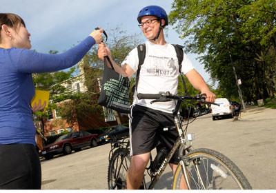 Recruiters on Bikes