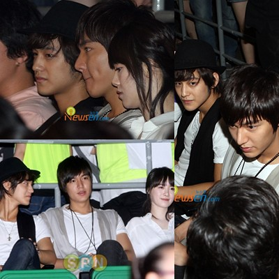 Lee Min Ho, Goo Hye Sun && Kim Bum attended ss501 concert | Flickr