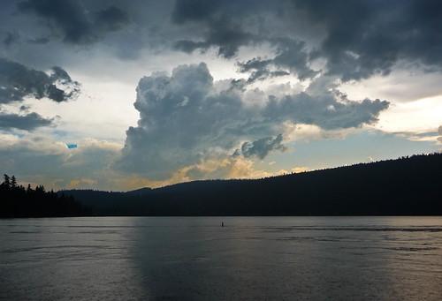 Rain at Lake of the Woods