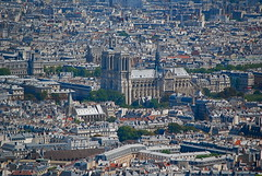 Notre-Dame from the sky (View it in large!)