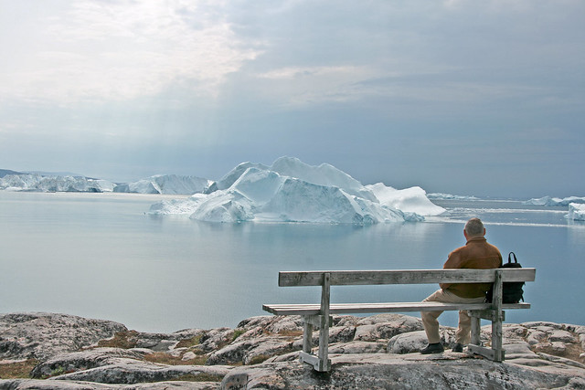 Old Man And Ice Ilulissat Flickr Photo Sharing