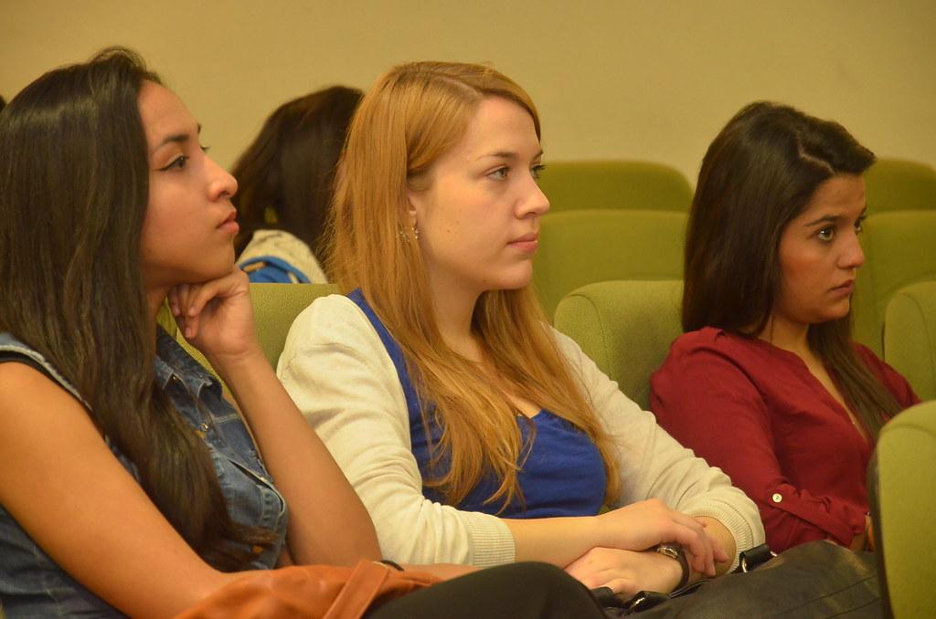 Bienvenida estudiantes extranjeros 2014