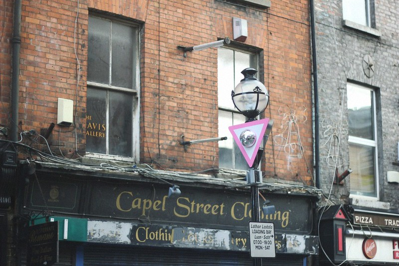 interesting sign on capel street