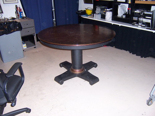 Copper Top Table rental New York