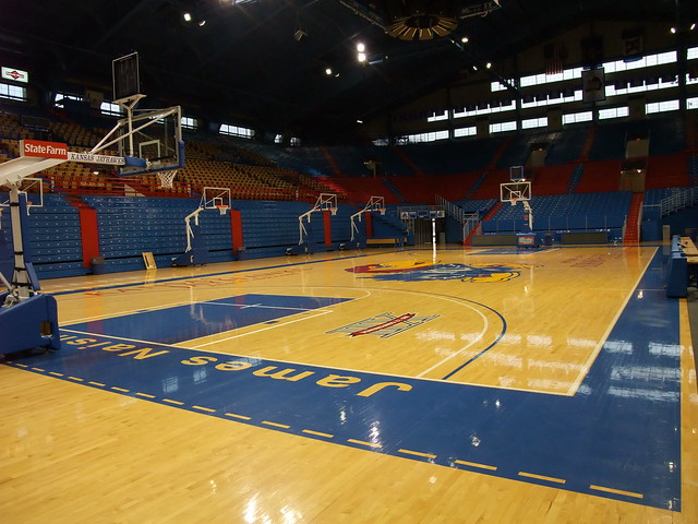 Header of Allen Fieldhouse