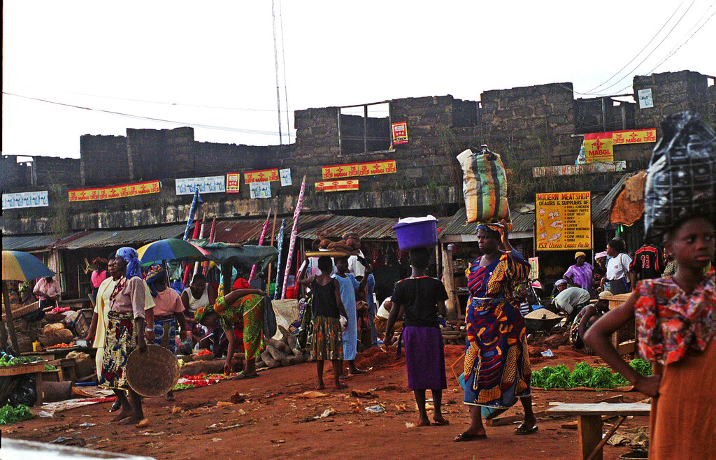Onitsha Anambra State South Eastern Nigeria Africa's Biggest Market Oct 27 2002 973 near Neni
