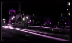 Long Exposure Atown Downtown Circle