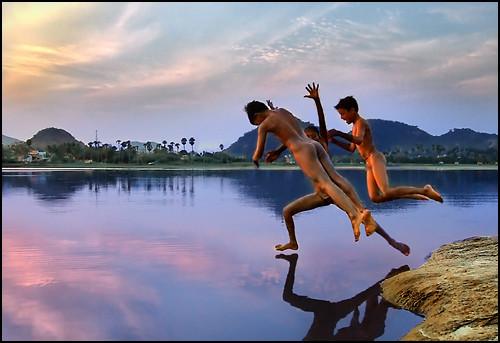We walk, we swim, we fly..we future
