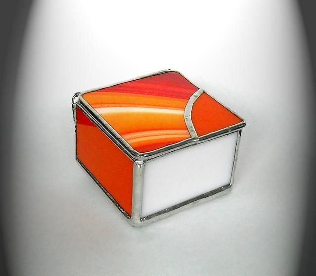 Orange Trinket Box