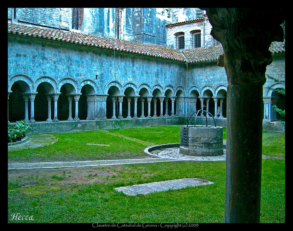 Claustre Catedral de Girona - Cloister of the Cathedral of Girona